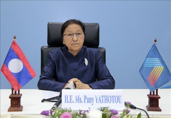 AIPA 41: Chủ tịch Quốc hội Lào đánh giá Việt Nam đã làm rất tốt vai trò Chủ tịch AIPA 41 - ảnh 1