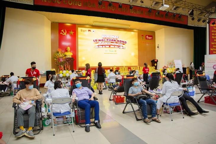 Lễ hội Xuân hồng dự kiến thu được hơn 4.000 đơn vị máu - ảnh 1
