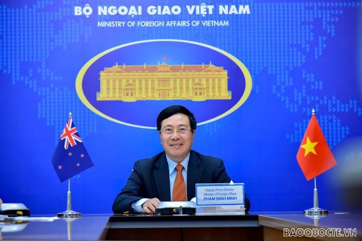 Tăng cường vai trò của hai Bộ ngoại giao trong thúc đẩy hợp tác Việt Nam - New Zealand - ảnh 1