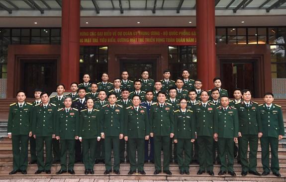 Quân ủy Trung ương - Bộ Quốc phòng gặp mặt Gương mặt trẻ tiêu biểu, Gương mặt trẻ triển vọng toàn quân năm 2020 - ảnh 1