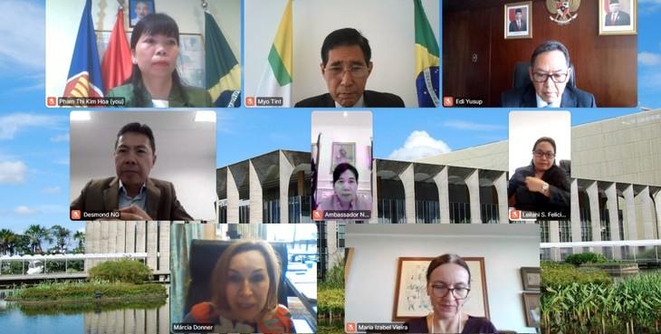 Cuộc họp giữa Ủy ban ASEAN tại Brazil và đại diện Bộ Ngoại giao Brazil - ảnh 1