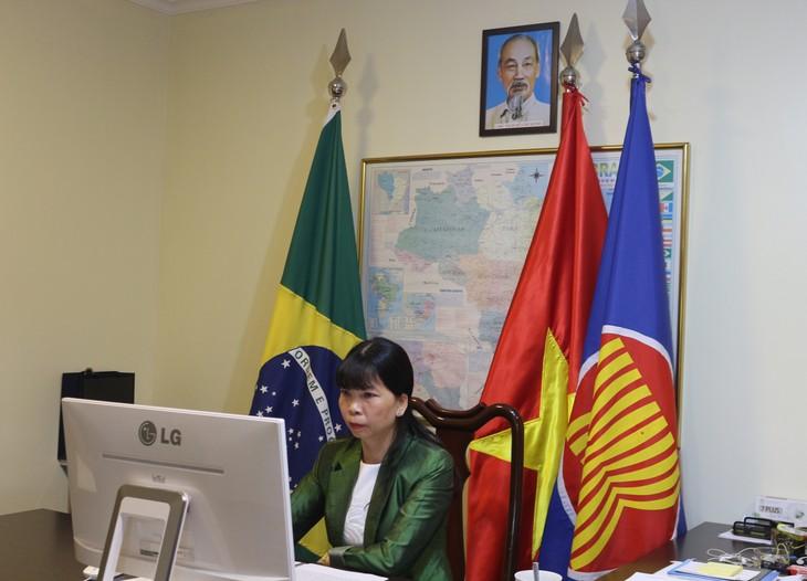 Cuộc họp giữa Ủy ban ASEAN tại Brazil và đại diện Bộ Ngoại giao Brazil - ảnh 2