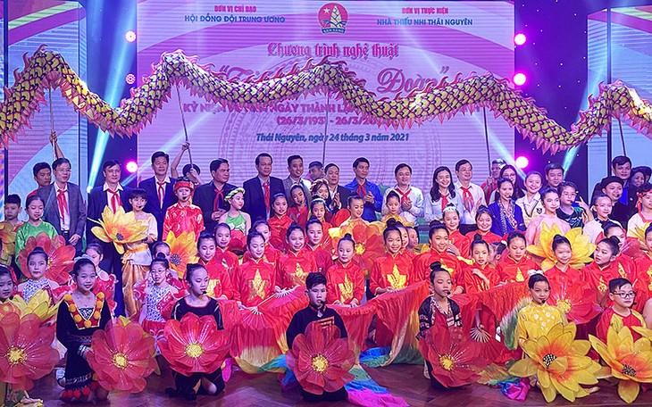 Phát động đợt thi đua cao điểm kỷ niệm 80 năm Ngày thành lập Đội Thiếu niên tiền phong Hồ Chí Minh - ảnh 1
