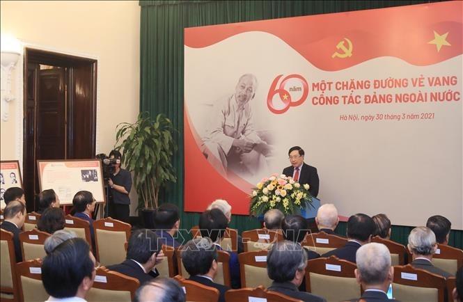 Công tác đảng ngoài nước: 60 năm - Một chặng đường vẻ vang - ảnh 1