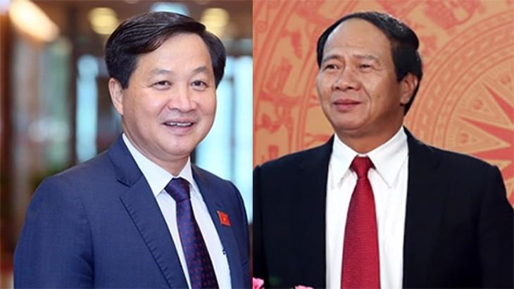 Thủ tướng trình Quốc hội phê chuẩn bổ nhiệm 2 Phó Thủ tướng và 12 thành viên Chính phủ - ảnh 1