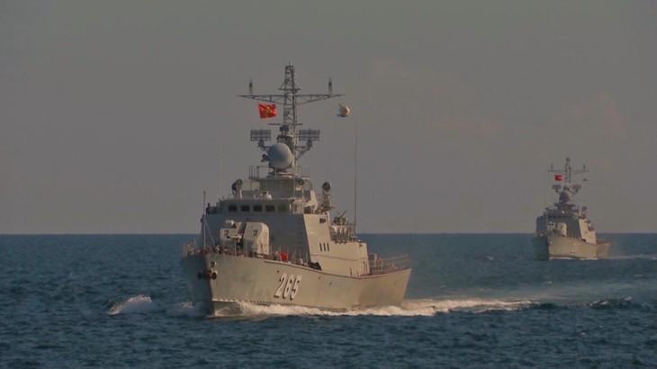 Hải quân Việt Nam - Hải quân Hoàng gia Thái Lan tuần tra chung lần thứ 43 - ảnh 1