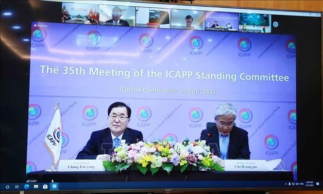 Đoàn đại biểu Đảng Cộng sản Việt Nam dự Cuộc họp lần thứ 35 Ủy ban Thường trực Hội nghị quốc tế các chính đảng châu Á - ảnh 1