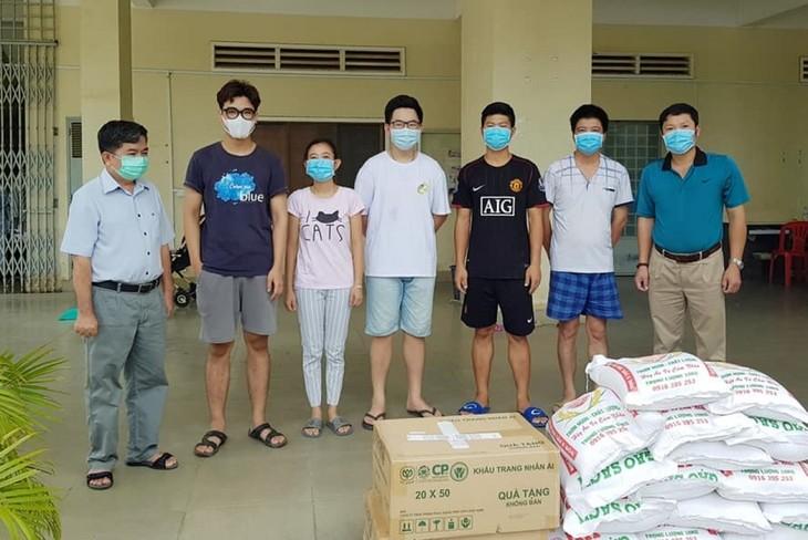 Đại sứ quán Việt Nam tại Campuchia luôn sát cánh cùng bà con trong đại dịch Covid-19 - ảnh 3