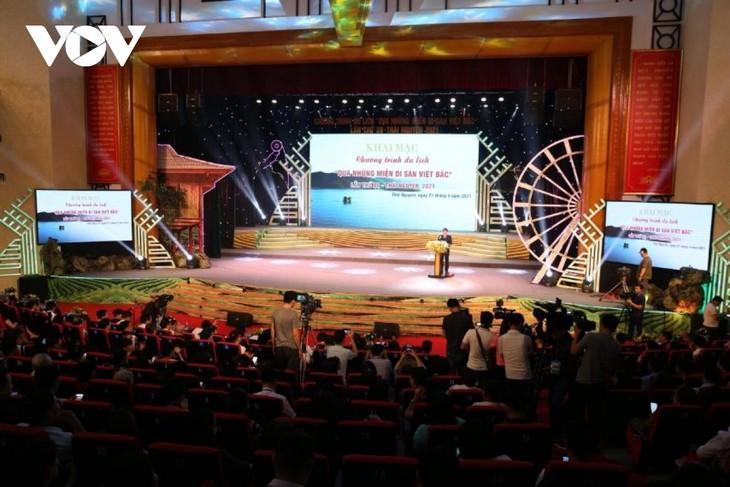 """Khai mạc Chương trình du lịch """"Qua miền di sản Việt Bắc"""" lần thứ XII - ảnh 1"""