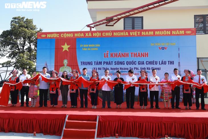 Đài Tiếng nói Việt Nam khánh thành trạm phát sóng Hoàng Su Phì - ảnh 1