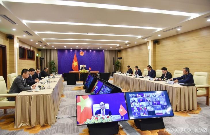 Chủ tịch nước Nguyễn Xuân Phúc dự Phiên khai mạc Hội nghị thượng đỉnh về khí hậu - ảnh 2