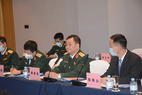 Việt Nam và Trung Quốc đối thoại chiến lược quốc phòng - ảnh 1