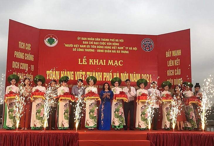 Khai mạc Tuần hàng Việt thành phố Hà Nội 2021 - ảnh 1