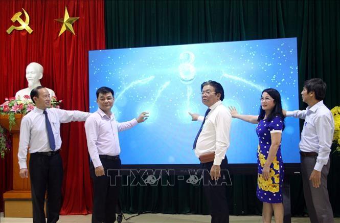 Quảng Nam: Ra mắt Trung tâm Điều hành giáo dục thông minh (IOC Edu) - ảnh 1