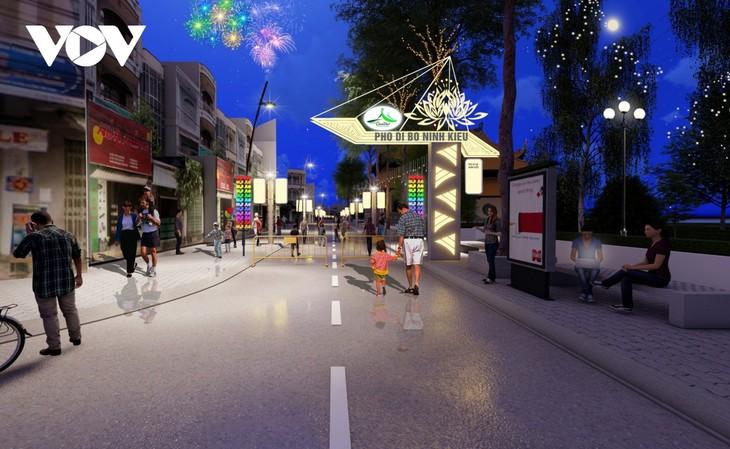Cần Thơ ra mắt tuyến phố đi bộ tại quận Ninh Kiều - ảnh 1