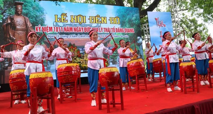 Lễ hội Đền Đô tái hiện thời kỳ lịch sử hào hùng của dân tộc - ảnh 1