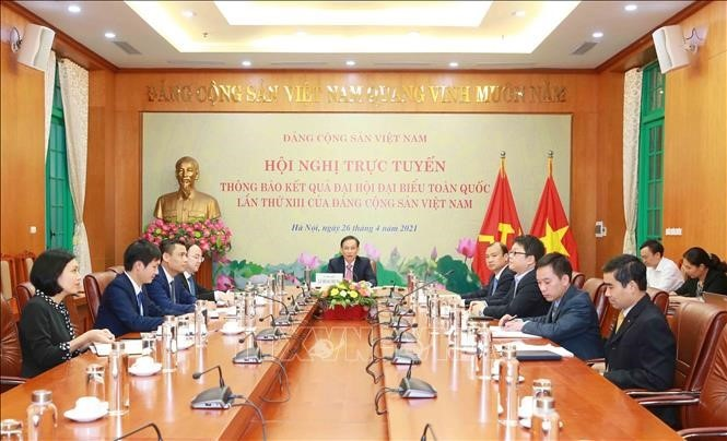 Thông báo kết quả Đại hội đại biểu toàn quốc lần thứ XIII của Đảng Cộng sản Việt Nam tới Đảng Cộng sản Nhật Bản - ảnh 1