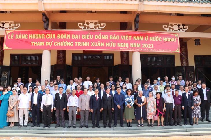 300 kiều bào họp mặt Xuân Hữu nghị tại tỉnh Đồng Nai - ảnh 1