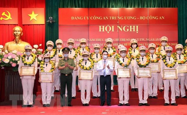 Phát huy trách nhiệm nêu gương trong lực lượng Công an nhân dân - ảnh 1