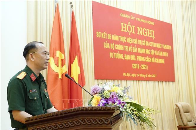 Cán bộ, chiến sĩ toàn quân đẩy mạnh học tập, làm theo tư tưởng, đạo đức, phong cách Hồ Chí Minh - ảnh 1