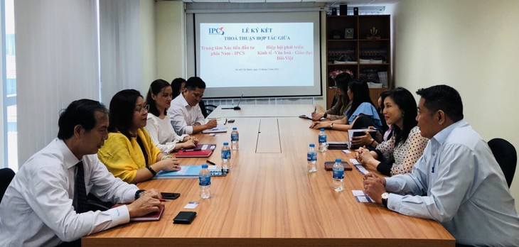 Hiệp hội Đài - Việt ký kết thoả thuận hợp tác với Trung tâm xúc tiến đầu tư phía nam IPCS - ảnh 3