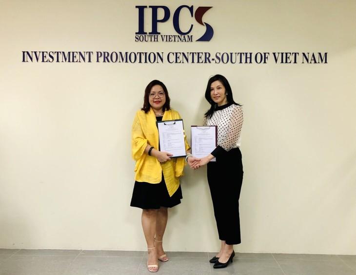 Hiệp hội Đài - Việt ký kết thoả thuận hợp tác với Trung tâm xúc tiến đầu tư phía nam IPCS - ảnh 2