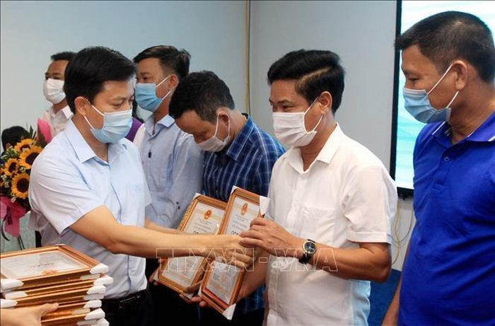 Thái Bình trao chứng nhận cho 17 sản phẩm OCOP - ảnh 1