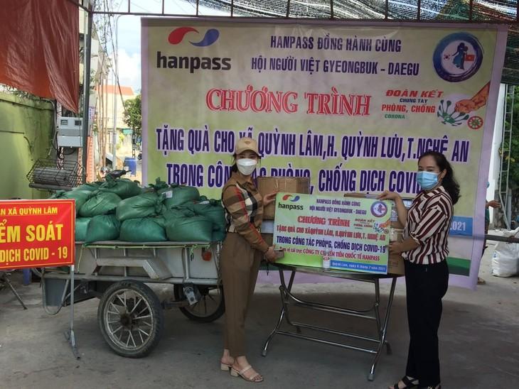Hội người Việt Nam tại Gyeongbuk-Daegu, Hàn Quốc đồng hành  cùng Việt Nam đẩy lùi dịch bệnh Covid-19 - ảnh 3