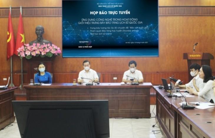 Bảo tàng lịch sử quốc gia Việt Nam công bố các sản phẩm công nghệ trong hoạt động trưng bày - ảnh 1
