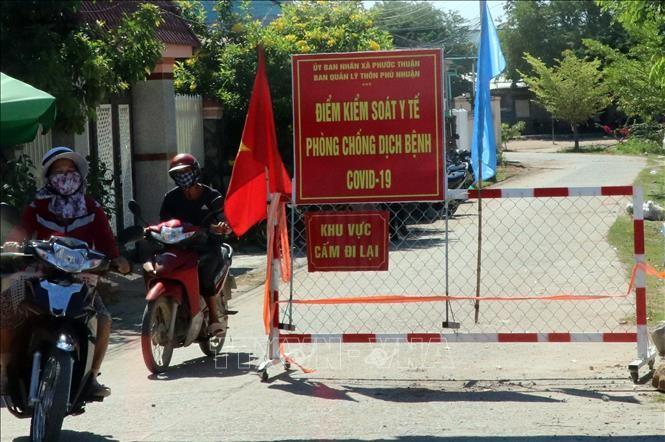 Ninh Thuận đón người dân từ vùng dịch về - ảnh 1