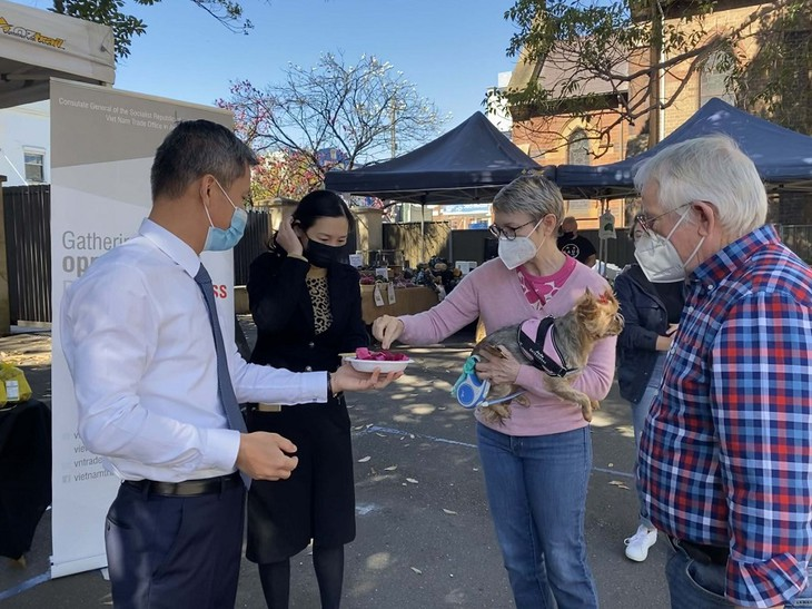 Quảng bá hàng nông sản Việt Nam ở Australia - ảnh 1