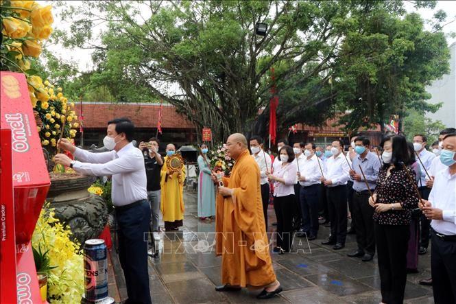 Tưởng niệm 721 năm Ngày mất của Anh hùng dân tộc Trần Hưng Đạo - ảnh 1
