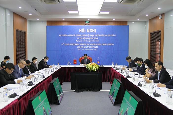 Hội nghị phòng, chống tội phạm xuyên quốc gia lần thứ 15 - ảnh 1