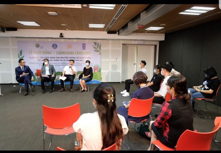 """Phát động cuộc thi """"Tìm kiếm sáng tạo truyền thông về giảm thiểu tác động của thiên tai và biến đổi khí hậu"""" - ảnh 2"""