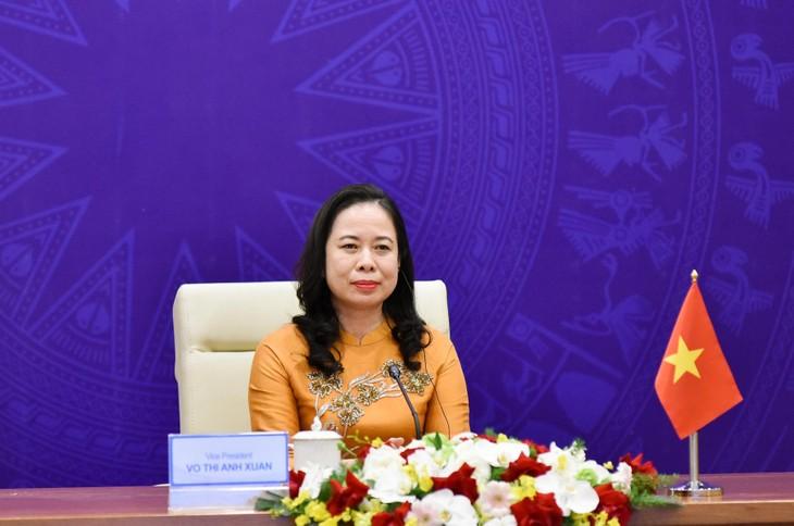 Phó Chủ tịch nước Võ Thị Ánh Xuân nêu các đề xuất nhằm thúc đẩy sự tiến bộ của phụ nữ - ảnh 1