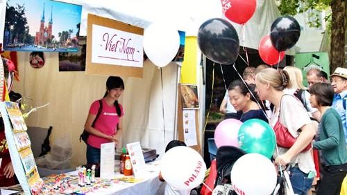 Вьетнам принял участие в многонациональном фестивале культуры в Австралии - ảnh 1