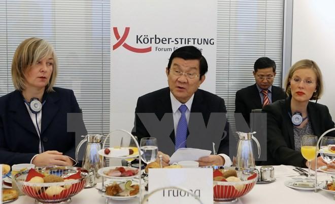 Президент СРВ Чыонг Тан Шанг выступил в Институте имени Кёрбера - ảnh 1