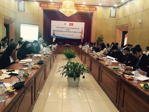 Вьетнам  и Республика Корея обсудили меры по расширению торгово-инвестиционного сотрудничества - ảnh 1