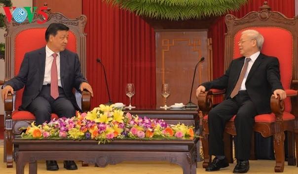 Вьетнам и Китай ценят дружеские отношения и традиционное сотрудничество - ảnh 1