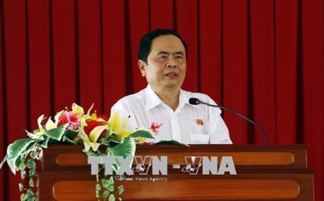 Председатель ЦК ОФВ поздравил радио «Голос Вьетнама» с Днём революционной прессы Вьетнама - ảnh 1
