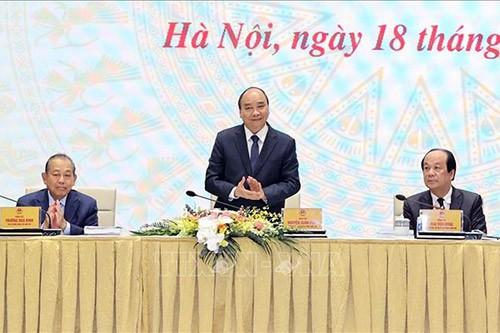 Нгуен Суан Фук высоко оценил проводимую в стране административную реформу - ảnh 1