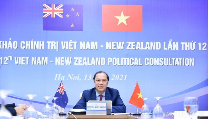 12-е политические консультации между Вьетнамом и Новой Зеландией - ảnh 1