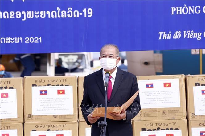 Лаос придаёт важное значение особым отношениям с Вьетнамом - ảnh 1