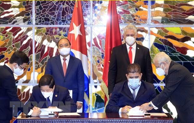 Укрепление солидарности и расширение всеобъемлющего сотрудничества между Вьетнамом и Кубой - ảnh 1