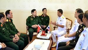 ผลักดันความร่วมมือด้านการทหารระหว่างเวียดนาม-ไทย - ảnh 1
