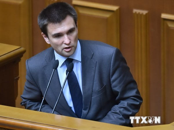 รัฐมนตรีต่างประเทศยูเครนเรียกร้องให้ฟื้นฟูความเชื่อมั่นระหว่างยูเครนกับรัสเซีย - ảnh 1