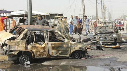 เกิดเหตุลอบวางระเบิดหลายครั้งในอิรัก  - ảnh 1