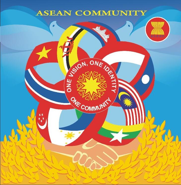 อาเซียนเปิดตัวแสตมป์ของเวียดนามที่ได้รับรางวัลการประกวดออกแบบแสตมป์อาเซียน - ảnh 1