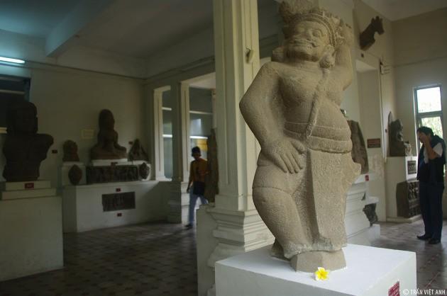พิพิธภัณฑ์ประติมากรรมจามนครดานัง - ảnh 13