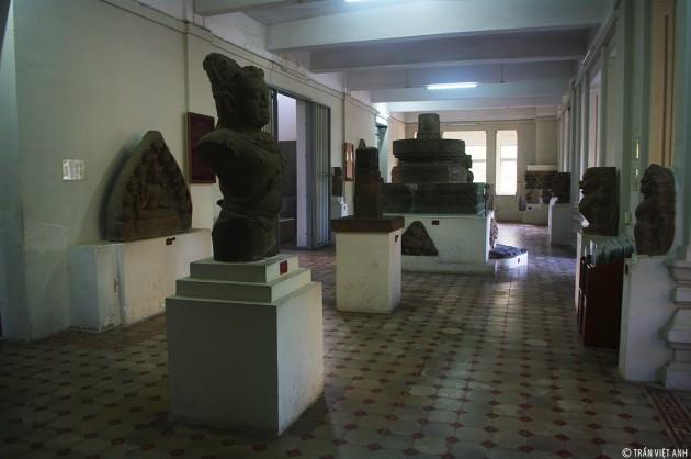 พิพิธภัณฑ์ประติมากรรมจามนครดานัง - ảnh 3